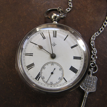 British Moses Thomas Pocket Watch