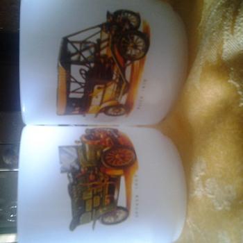 car mugs by hazel atlas? - Glassware
