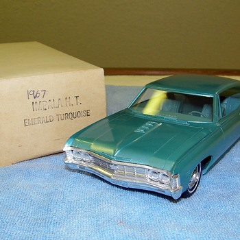 A few Chevrolet Promo Model Cars - Model Cars