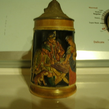 old german beer stein