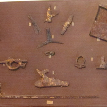 Civil War Relics, Displayed for Years at Farm Museum - Military and Wartime