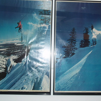 Vintage Skiing II - Posters and Prints