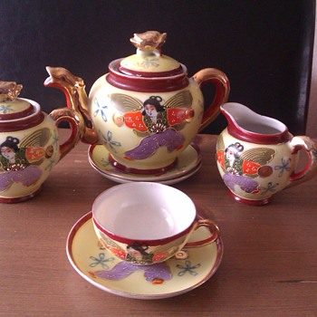 Mini Satsuma tea set - Asian
