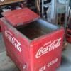 coke ice chest