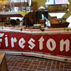 Vintage Firestone Sign, my newest find! It hung in Fairfield Illinois!