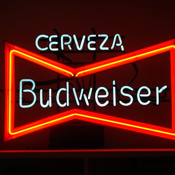 Vintage Bud sign