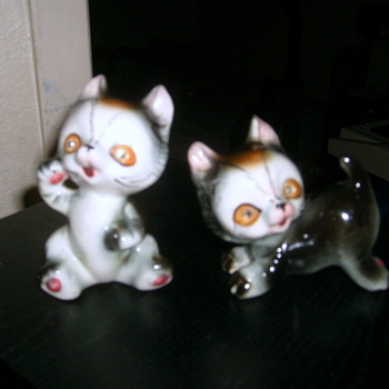 Little Kitten Figurines - Dolls