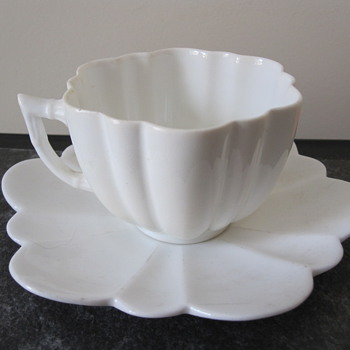 Beautiful Foley China flower cup & saucer - China and Dinnerware