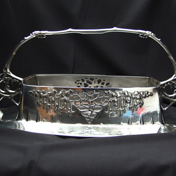 Urania silver-plated basked nr. 1239 - Art Nouveau