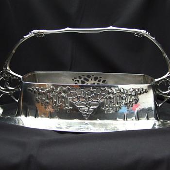 Urania silver-plated basked nr. 1239 - Art Nouveau