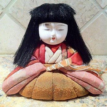 1950s Japanese Kimekomi Doll