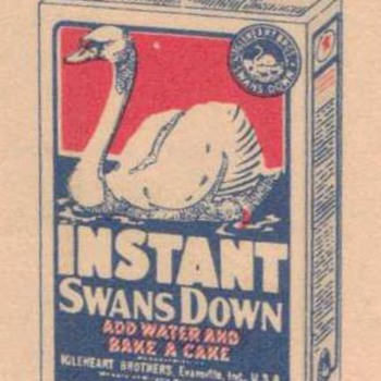 1926 - Swan's Down Advertisement - Advertising