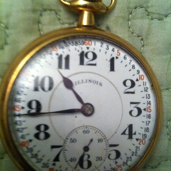 Great Grandfathers Illinois Pocket Watch - Pocket Watches