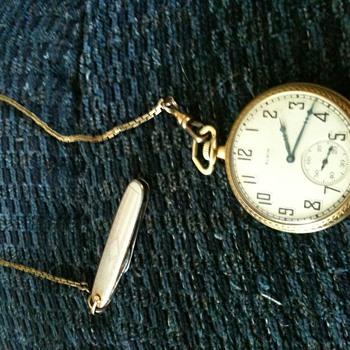 i need info on this watch my grandfather left me - Pocket Watches