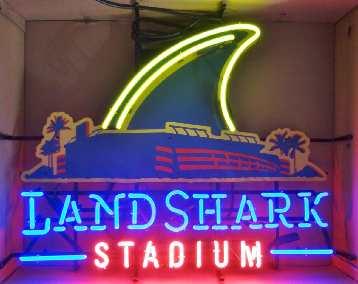 LANDSHARK LAGER - LANDSHARK STADIUM neon sign | Collectors