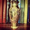 Japanese Mixed Metal Vase