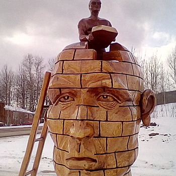 Road Trip / Chainsaw Carvings - Visual Art