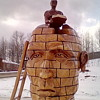 Road Trip / Chainsaw Carvings