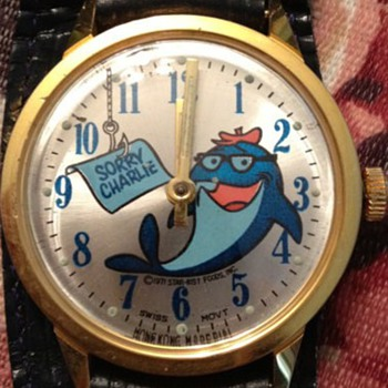 "1971 Starkist ""Sorry Charlie"" wristwatch - Wristwatches"