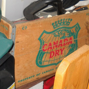 Canada Dry Crate - Advertising