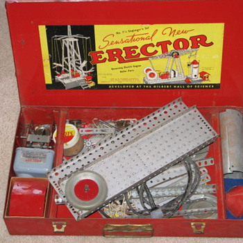 1953 Erector Set - Toys
