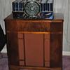 Found a speaker cabinet for my E. H. Scott Philharmonic FM radio receiver.