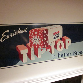 Tip Top Bread Sign