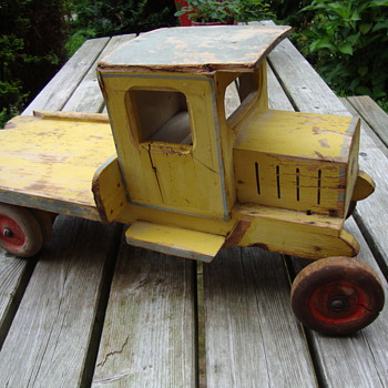 vintage toy truck