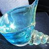 Art glass ashtray