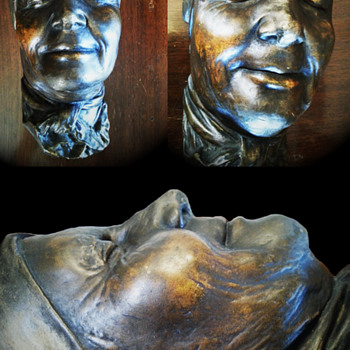 Original Death Mask - Victorian Era