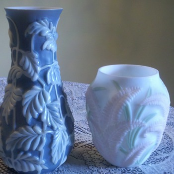 Milk Glass Vases - Glassware
