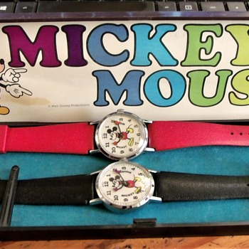 For Wandlessfairy....The Pie-Eyed Mickey Mouse Bradley Wristwatch