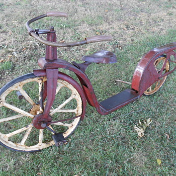 Antique scooter/bicycle