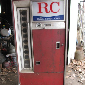 RC/Coke machine.  - Coca-Cola