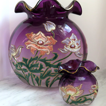 The Mother and Child Reunion - Legras et Cie - Art Glass