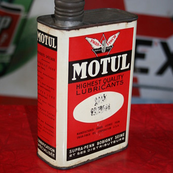 motul oil can - Petroliana