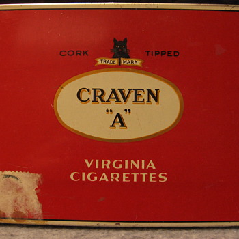 Cigarette Tins