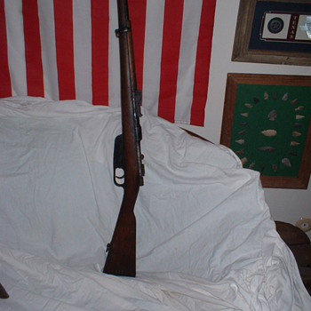 WW II Italian Rifle - Military and Wartime