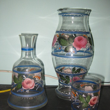 Carl Goldberg, Handpainted Glassware - Art Glass