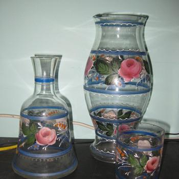 Carl Goldberg, Handpainted Glassware - Art Glass