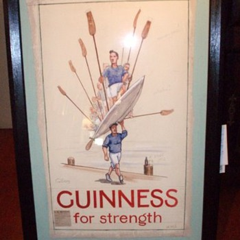 Guinness For Strength - Oarsmen - Breweriana