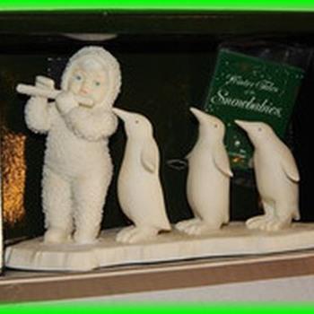 Circa 1989 --- SNOWBABIES -- Penguin Parade