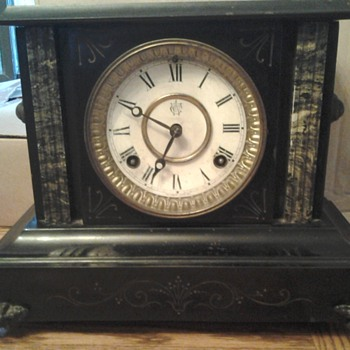 great-grandmother's mantel clock