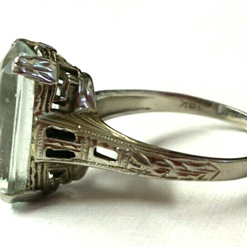 Aquamarine Ring - Fine Jewelry