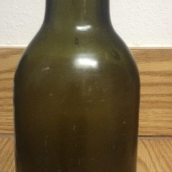 Glass Bottle Found Diving in St. Kitts