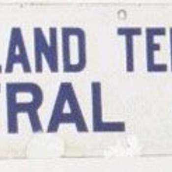 New England Tel. &amp; Tel. Co. Central Office Sign