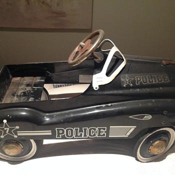 'Police' Pedal Car