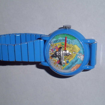 goofy Hong Kong made bubble watch