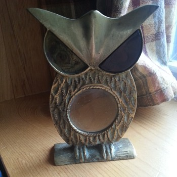 owl magnifying glass