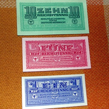 1939/45-ww2-german gestapo military notes. - Military and Wartime